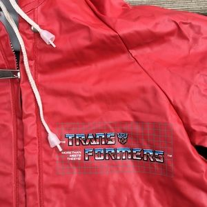 Hasbro Jackets & Coats - 1985 Transformers Cartoon Rain Coat